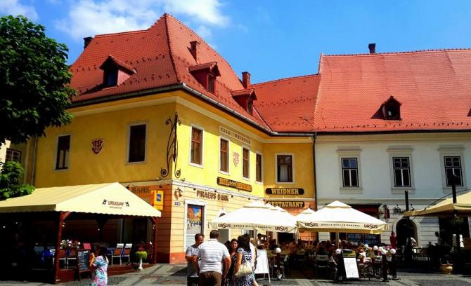 Municipiul Sibiu, imagine din centru