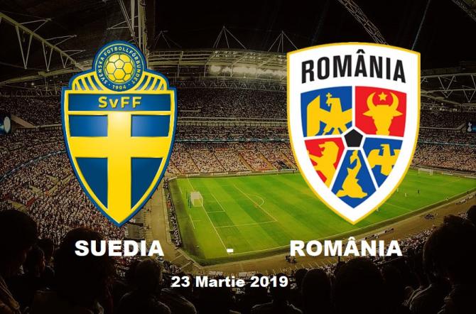 Suedia - România, debut în preliminariile Euro 2020. Rezultat final