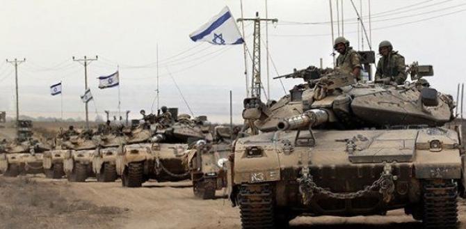 Tancuri-israeliene-frontiera-cu-Fâșia-Gaza