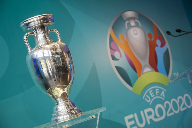 EURO 2020 - TROFEUL Henri Delaunay, la București