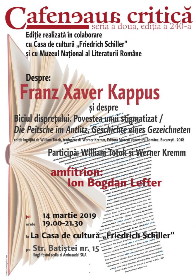 Despre Franz Xaver Kappus la Schillerhaus
