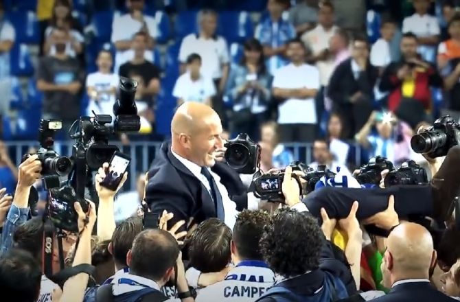 Zinedine Zidane la Real Madrid