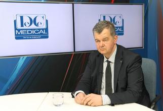 Dr Radu Ciudin, invitatul de luni 8 aprilie de la emisiunea Academia de Sănătate. Foto: DC NEWS