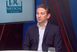 Dr Radu Zamfir, directorul executiv al Agentiei Naționale de Transplant. Foto: DC MEDICAL