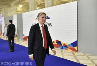 Ministrul de Externe al Marii Britanii, Philip Hammond