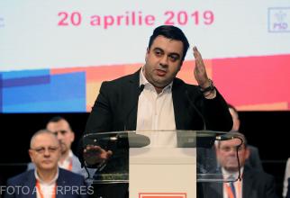 Razvan Cuc, ministrul Transporturilor, participa la Conferinta Organizatiei Judetene a PSD Iasi