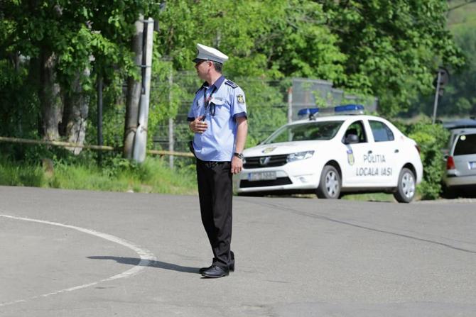 FOTO: Facebook / Poliția Locală Iași