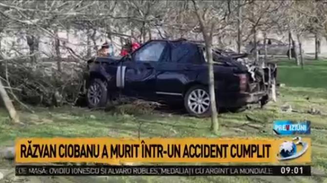 Răzvan Ciobanu, moarte cumplită