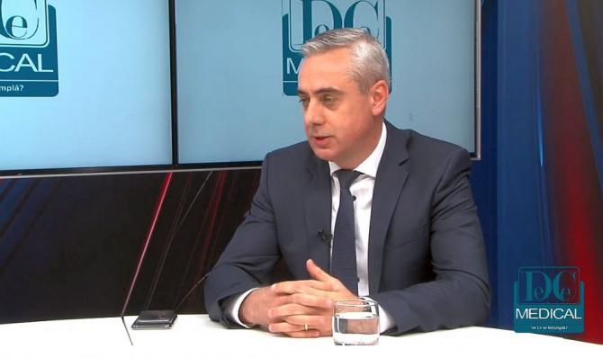 Adrian Grecu, președintele APMGR, la Interviurile DC NEWS și DC MEDICAL. Foto: DC NEWS