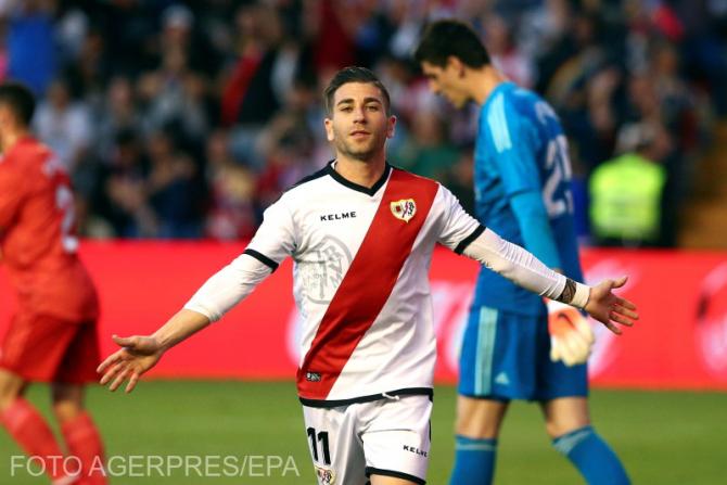 Adrian Embarba, după marcarea golului din lovitura de la 11 metri