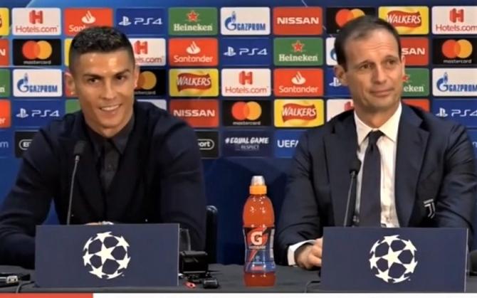 """Cristiano Ronaldo? """"Nu este nimic de făcut"""" se resemnează Allegri, antrenor Juventus"""