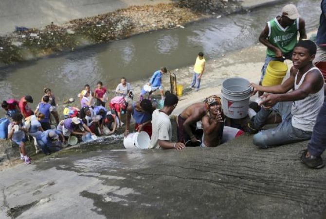 Criza de apa din Venezuela