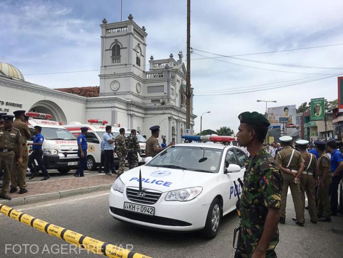 Atentate în Sri Lanka