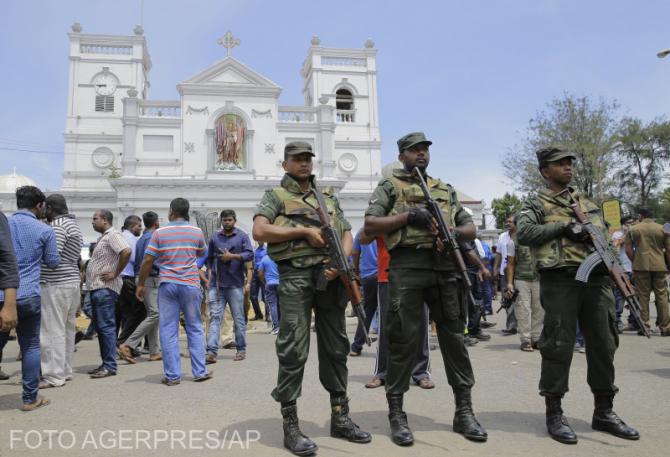 Atentat în Sri Lanka