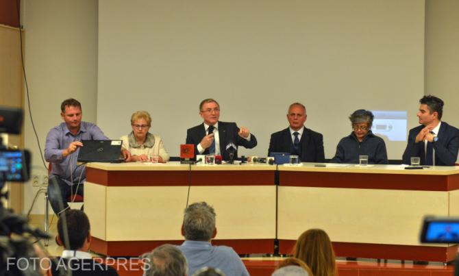 Procurorul General al Romaniei, Augustin Lazar, sustine o alocutiune la festivitatea de decernare a Premiilor Societatii Timisoara pe anul 2018.
