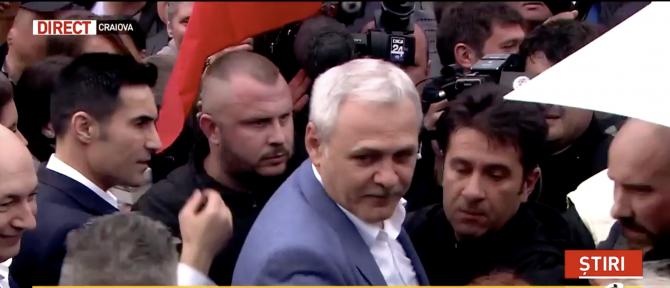 Liviu Dragnea, la mitingul PSD de la Craiova