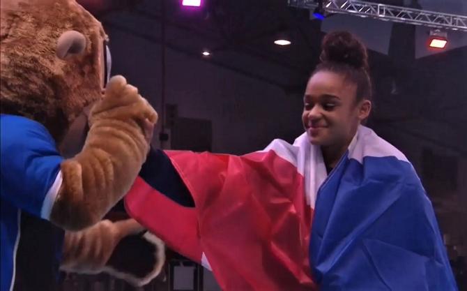 Campionatele Europene de gimnastică. Medalia de aur, o franțuzoaică. Denisa nu a prins podiumul