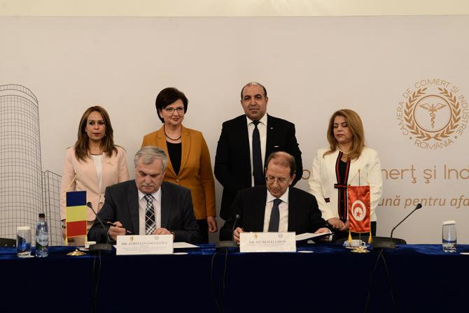 Memorandum de Înțelegere între Camera de Comerț și Industrie a României și Uniunea Tunisiană a Industriei, Comerţului şi Artizanatului