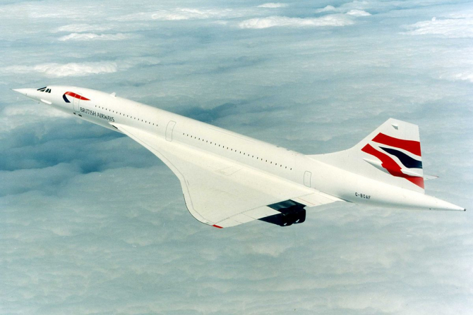 Celebrul avion Concorde revine