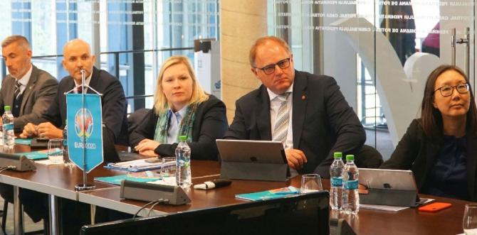EURO 2020 - Delegație UEFA, la București. Noi verificări și concluzii. foto: FRF