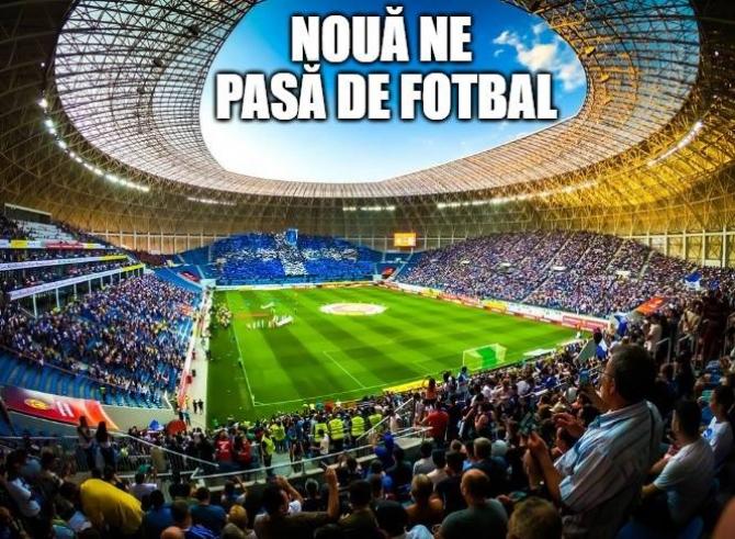 Manifest drepturi TV și program meciuri, CS U Craiova. foto: @UCVOficial - FB