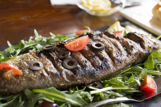 Peşte gătit