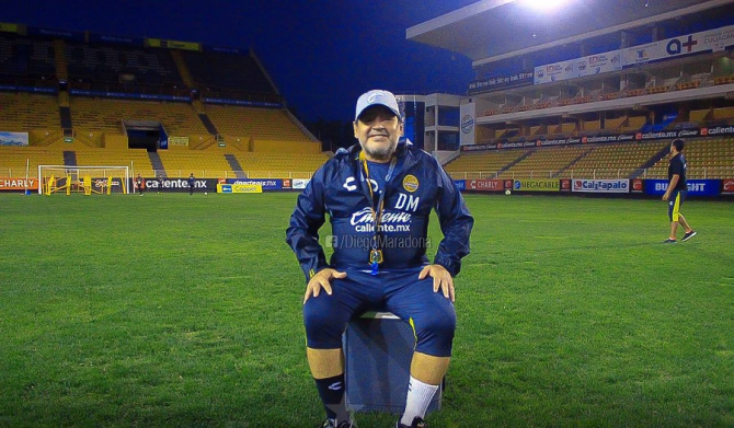Federația nu-l iartă: Maradona riscă sancţiuni.   foto:@diegomaradona