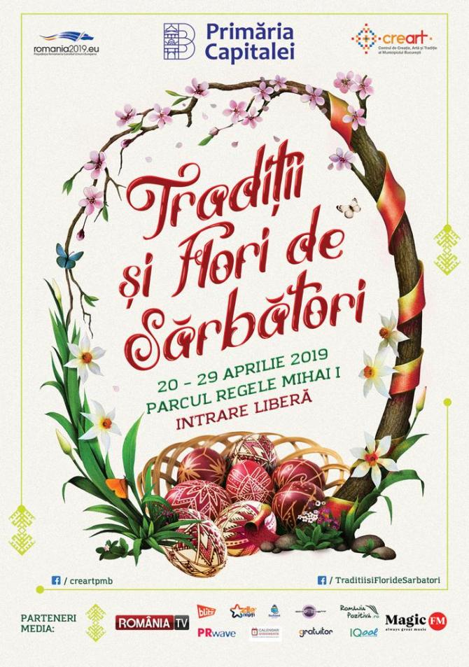 Târg de Paște pentru bucureștenii care petrec Sărbătorile Pascale în Capitală