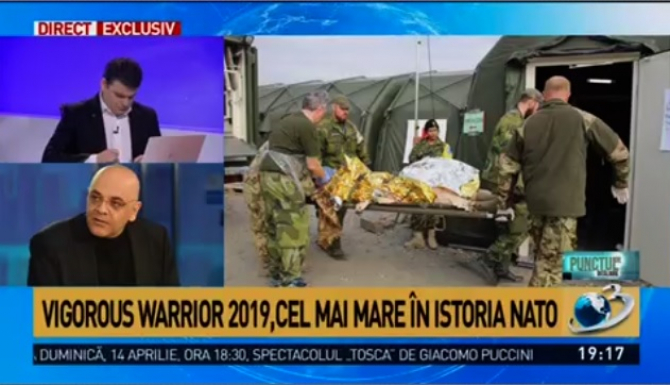 Vigorous Warrior, cel mai mare exercițiu civil-medical-militar NATO