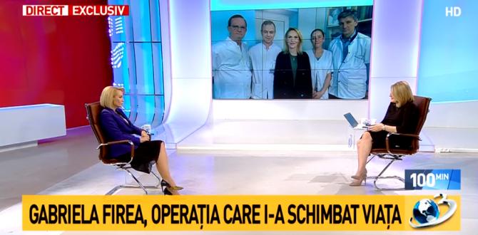 Gabriela Firea, la Antena 3