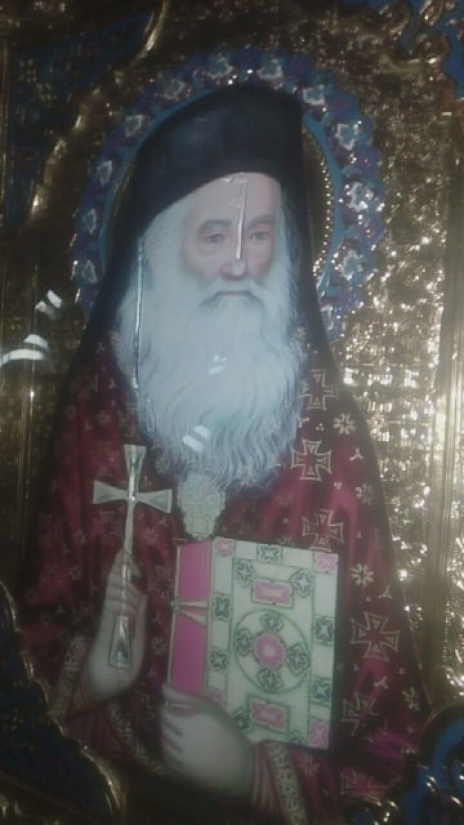 Icoana Părintelui Iustin Pârvu