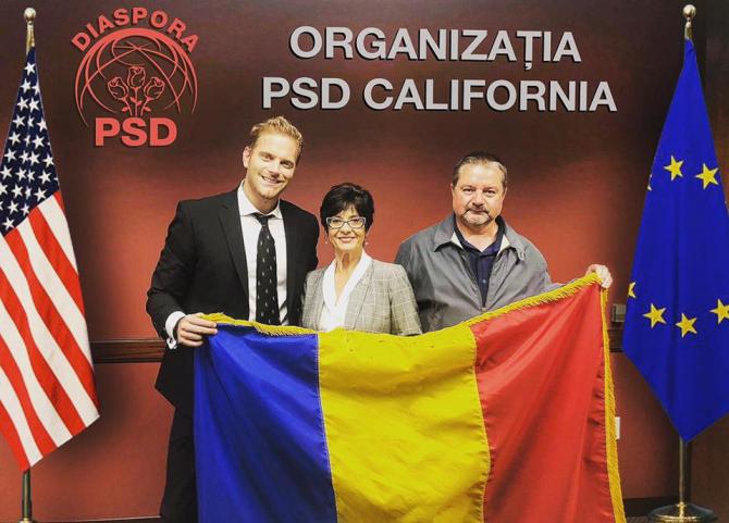 Ilan Laufer, înfiinţare PSD California. Sursa: Facebook Ilan Laufer