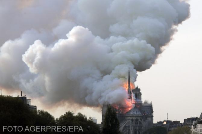 Incendiu Notre Dame de Paris