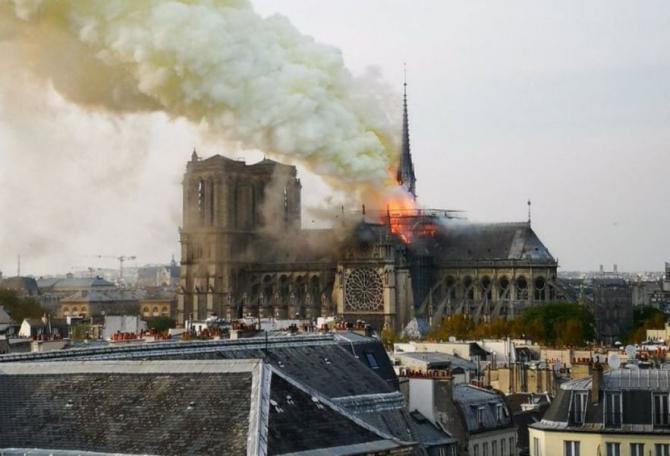 Incendiu Notre-Dame
