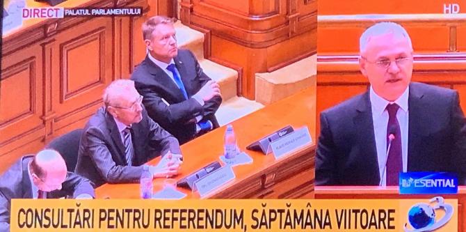 Liviu Dragnea, declarații în ședința solemnă