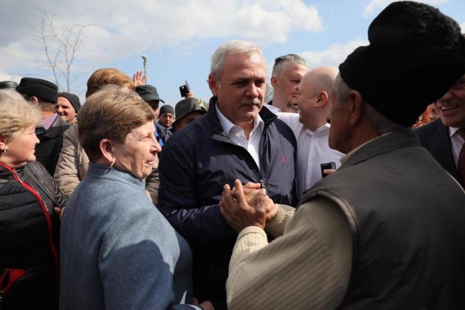 Liviu Dragnea la mitingul de la Suceava