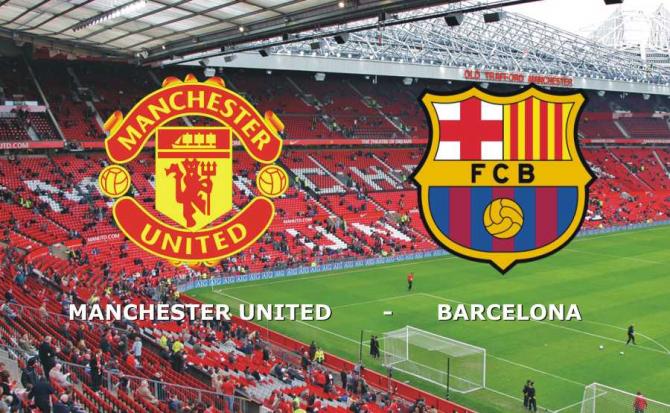 Manchester United - Barcelona rezultat în meciul tur sferturi de finală Liga Campionilor