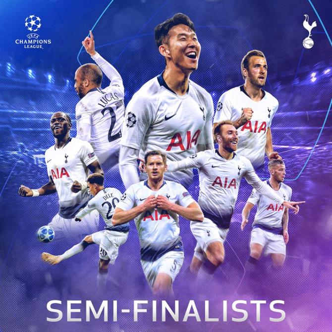 Manchester City - Tottenham rezultat cu 8 goluri. foto: @TottenhamHotspur - FB