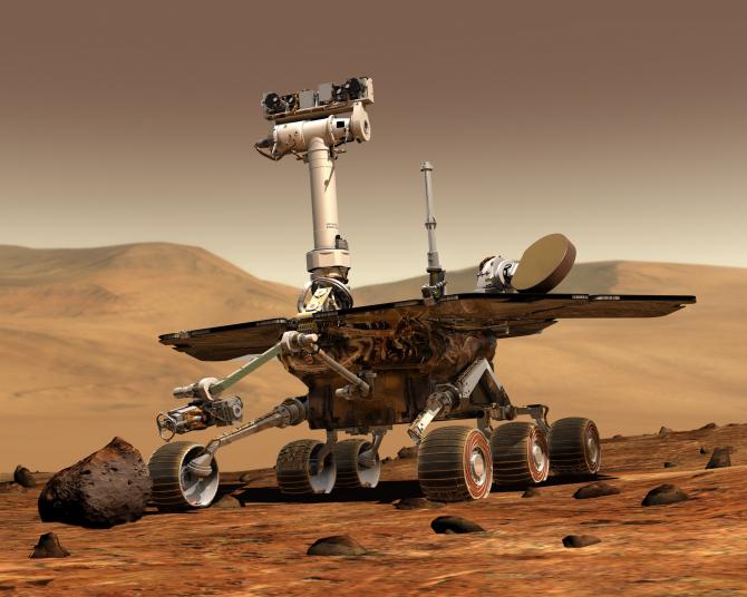 Vehicul pe Marte