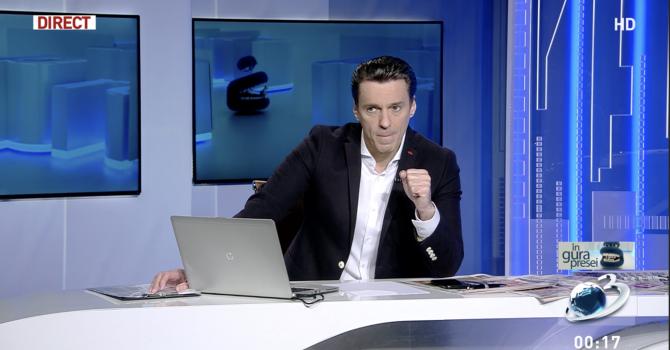 Mircea Badea, în emisiunea de marți