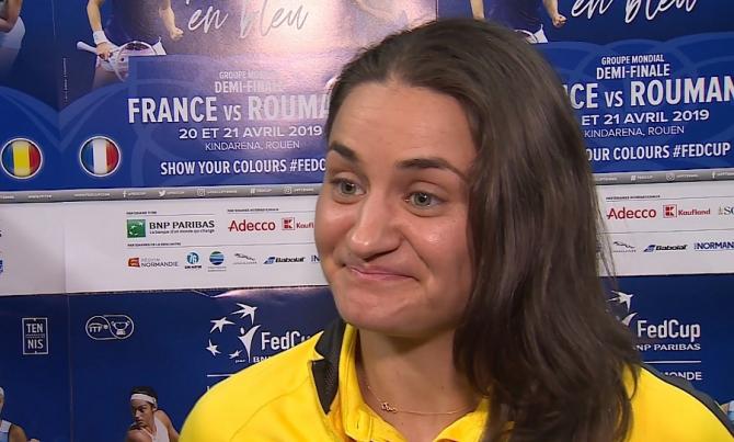 """Monica Niculescu, plină de speranțe: """"Emoțiile au fost mari"""". Ce a spus despre viitorul echipei de Fed Cup"""