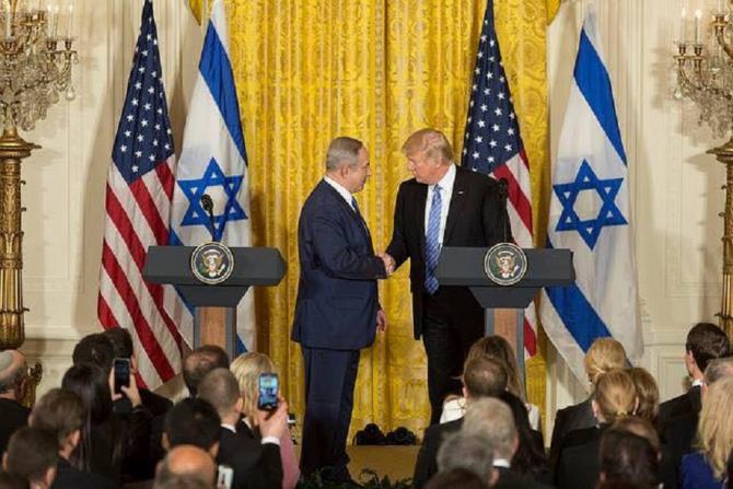 Pacea israeliano-palestiniană, anunțată de Donald Trump