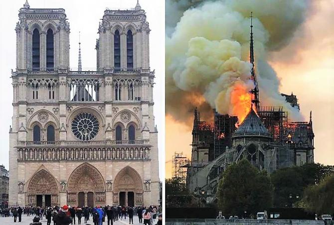 Incendiu Catedrala Notre Dame