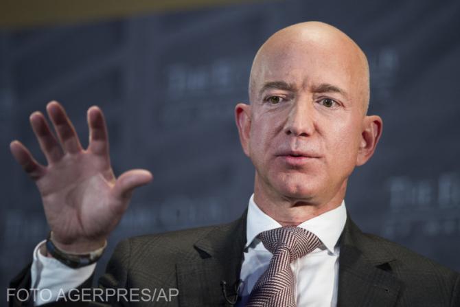 Jeff Bezos, patronul Amazon, cel mai bogat om din lume