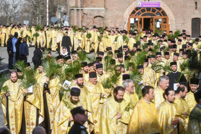 Mănăstirea Radu Vodă, punctul de plecare al pelerinajului de Florii din București