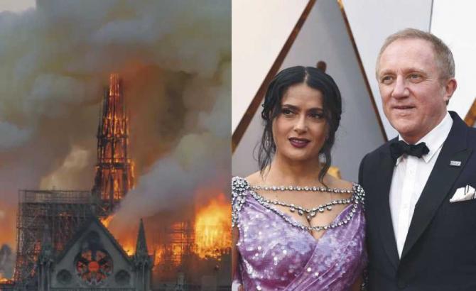 François Pinault a promis 100 de milioane de euro pentru reconstrucția catedralei Notre Dame distruse de incendiu