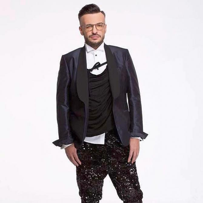 Regretatul creator de modă Razvan Ciobanu. Foto: Facebook