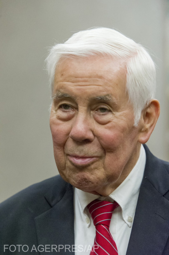 Richard Lugar a fost ales senator timp de 35 de ani consectiv