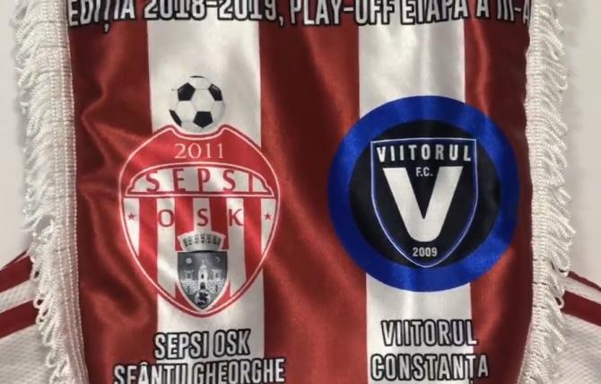 Sepsi - Viitorul Rezultat în ultimul meci al rundei a 3-a, Play Off