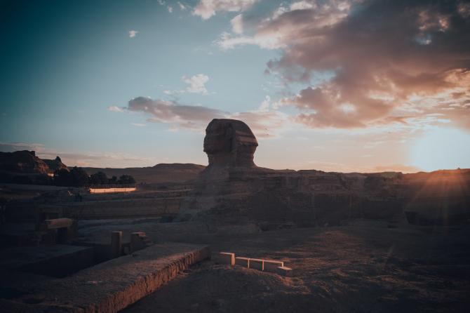 Sfinxul din Egipt